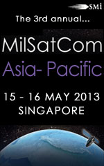 Following on from the last two years of exceptional discussion and unrivalled military-industry networking opportunities, SMi Group are pleased to announce that our 3rd MilSatCom Asia conference will be taking place 15-16 May 2013 in Singapore.